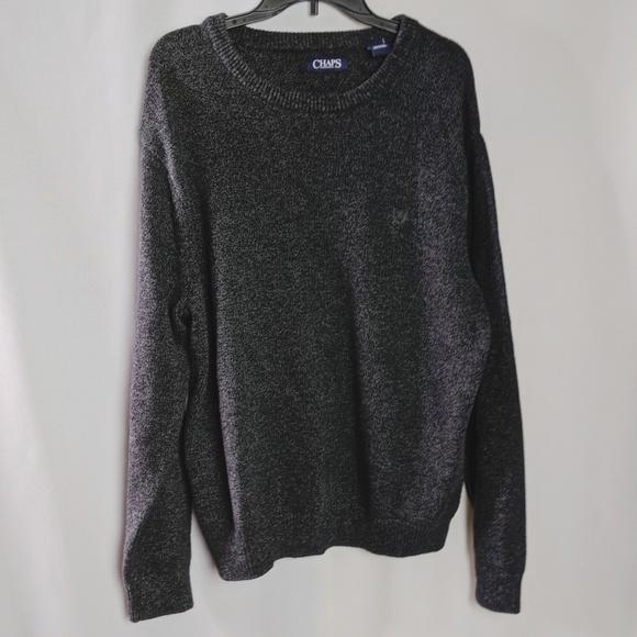 Chaps Other - Chaps Ralph Lauren Dark Gray Knit Sweater Sz XL